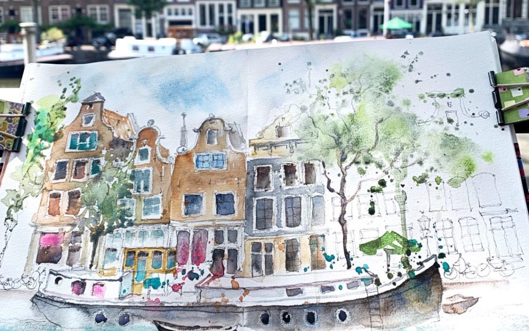 Takeaways from the Amsterdam Urbansketching Symposium