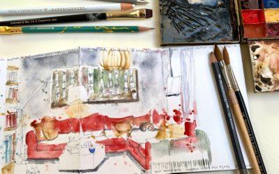 #CREATE Corona sketchbook 5