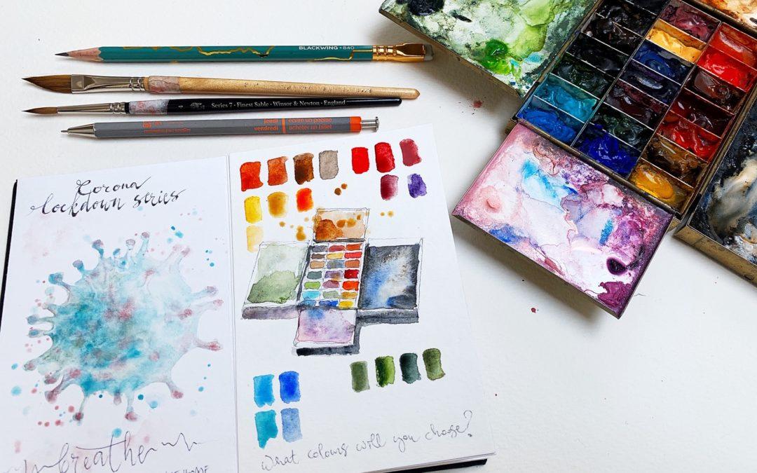 #CREATE corona sketchbook 8