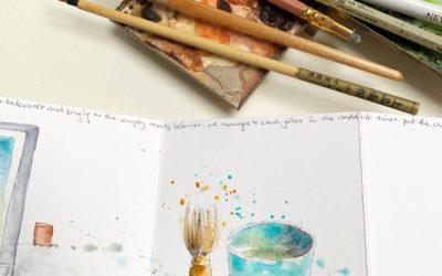#CREATE Corona sketchbook 3
