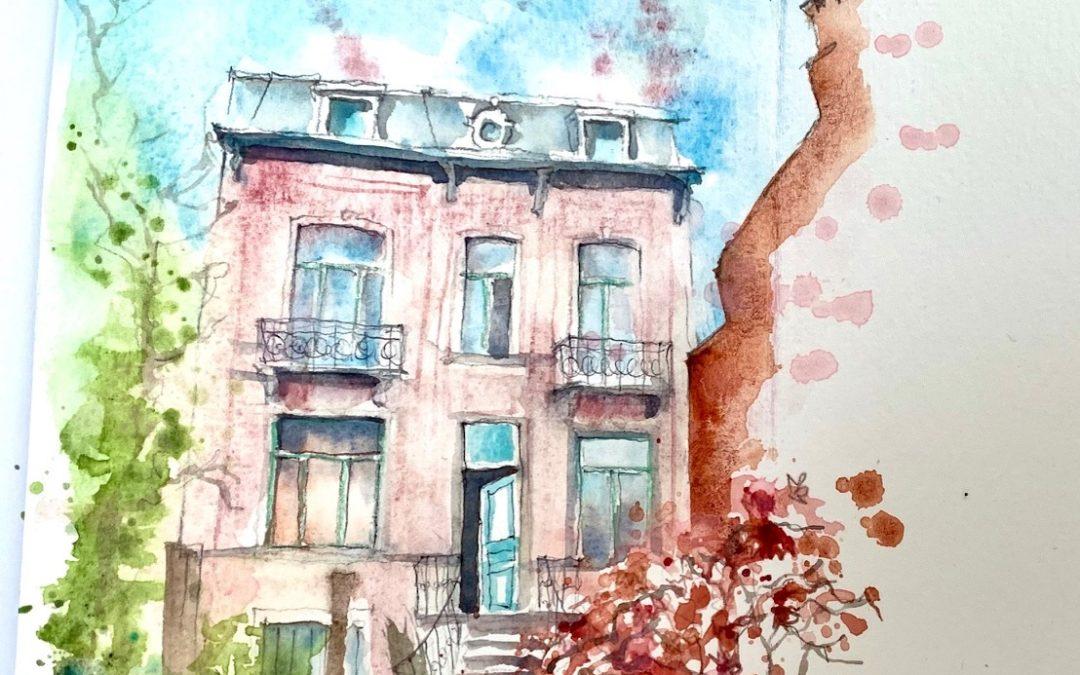Confinement days 22 – 28: 4th sketchbook