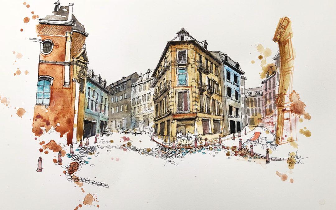Brussels after Ian's workshop