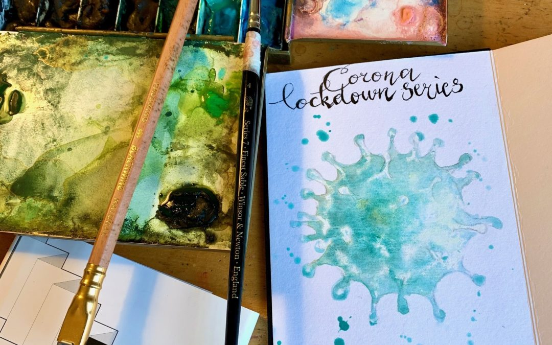 #CREATE Corona sketchbook 1