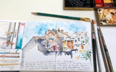 #CREATE corona sketchbook 9&10